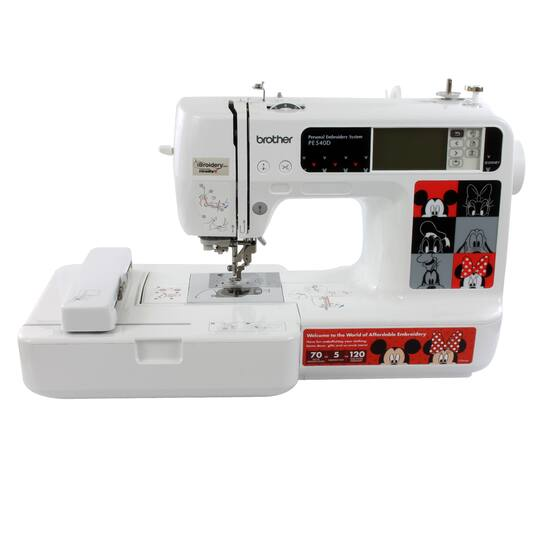 Brother™ PE40D Disney EmbroideryOnly Machine Cool Brother P 1000 Sewing Machine
