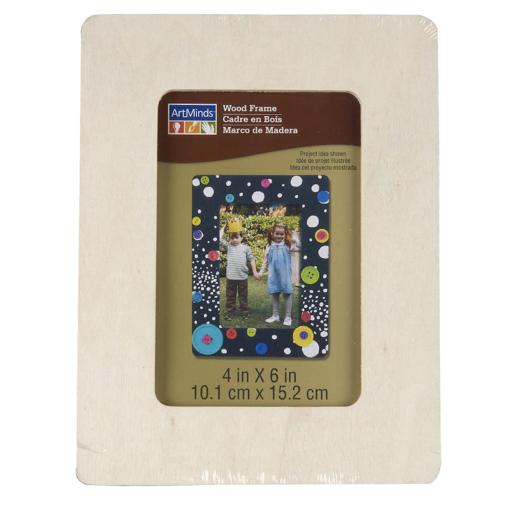 ArtMinds™ Wood Frame 6 Pack, 4\