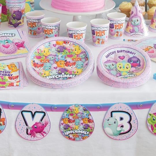 Hatchimals Happy Birthday Banner