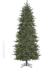 9 ft pre lit slim fresh cut carolina frasier artificial christmas tree multicolor lights - Michaels Christmas Trees Artificial