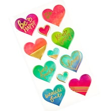 heart puffy stickers by recollections™ 877360c9cdcb