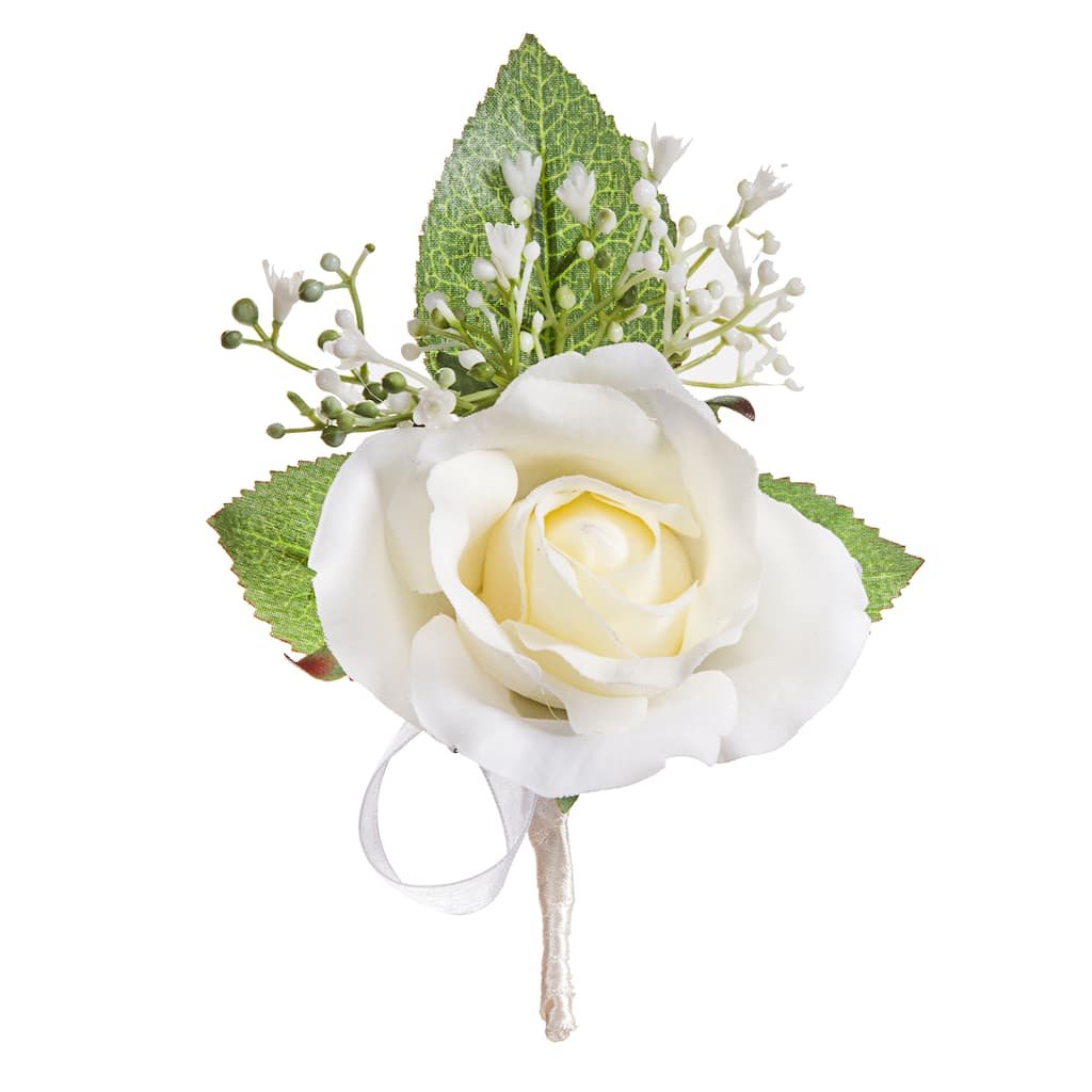 Find The David Tutera Roses Beads Groom Boutonniere At Michaels
