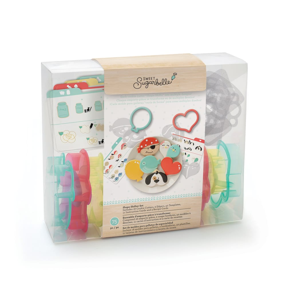 Find The Sweet Sugarbelle Shape Shifter Cookie Cutter Set At Michaels