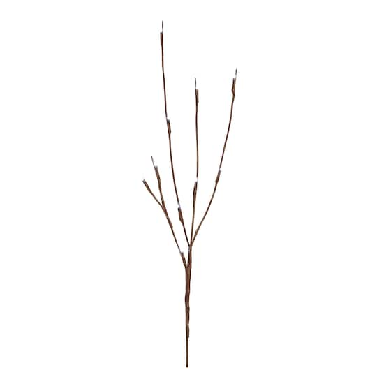 Apothecary & Company™ Decorative LED Twig Branches, 27\
