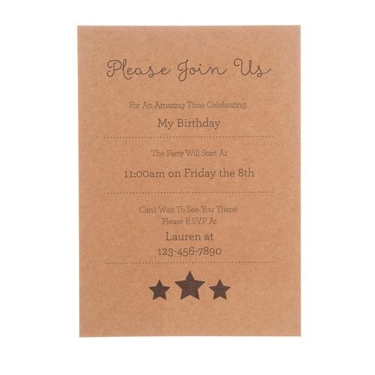 Darice® Kraft Blank Cards & Envelopes, 5