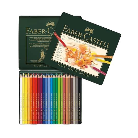 faber castell polychromos colour pencil tin set