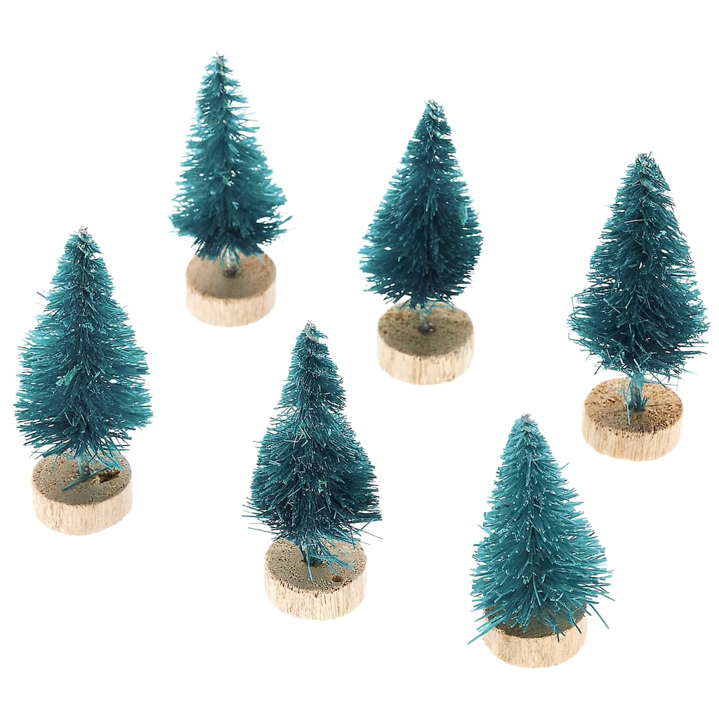 Image result for miniature christmas village michaels trees