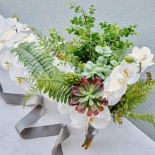 Greenery Floral Bridal Bouquet