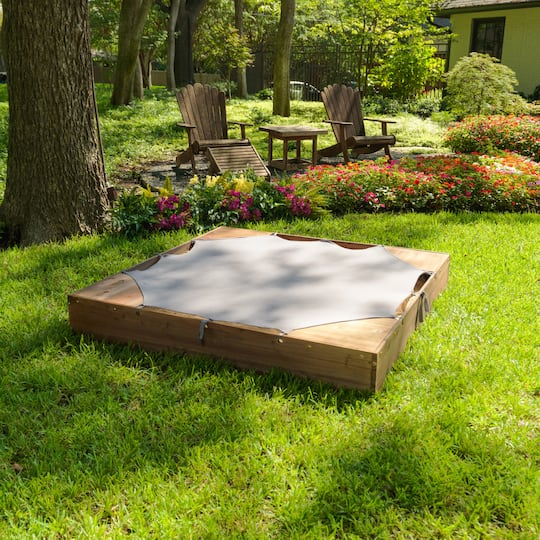 Kidkraft Backyard Sandbox kidkraft backyard sandbox, espresso