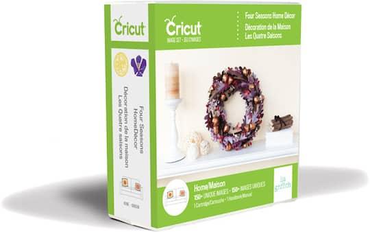 CricutR Four Seasons Home Decor Cartridge Img