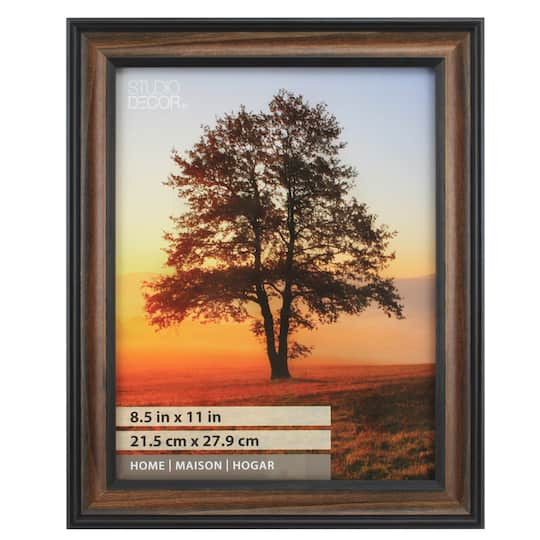 Find The Brown & Black Thin Home Frame By Studio Décor® At