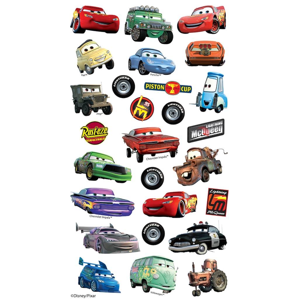 Disney Pixar Flat Stickers Cars