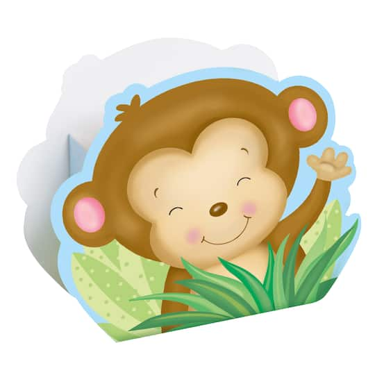 Boy Monkey Baby Shower Candy Boxes Boy Baby Shower Supplies