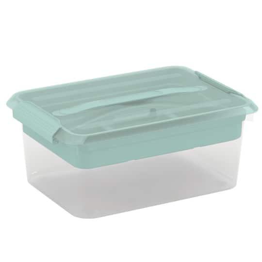 Shop For The Latchmate Mint Storage Box With Tray By Recollections