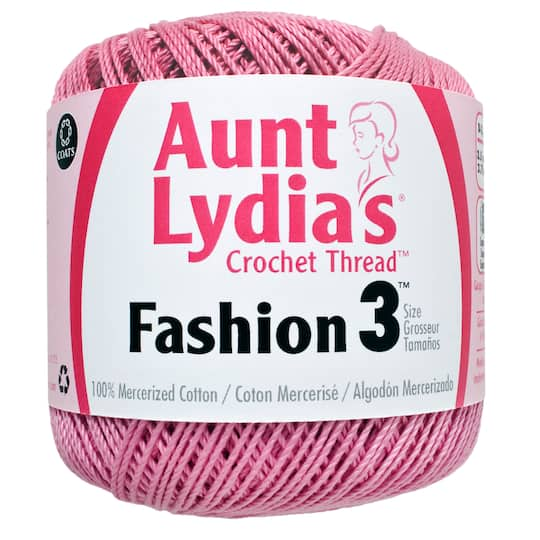 Aunt Lydias Fashion Crochet Cotton Thread
