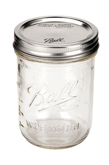 6cbfe23adfc9 16 oz. Pint Size Wide Mouth Ball® Mason Jar