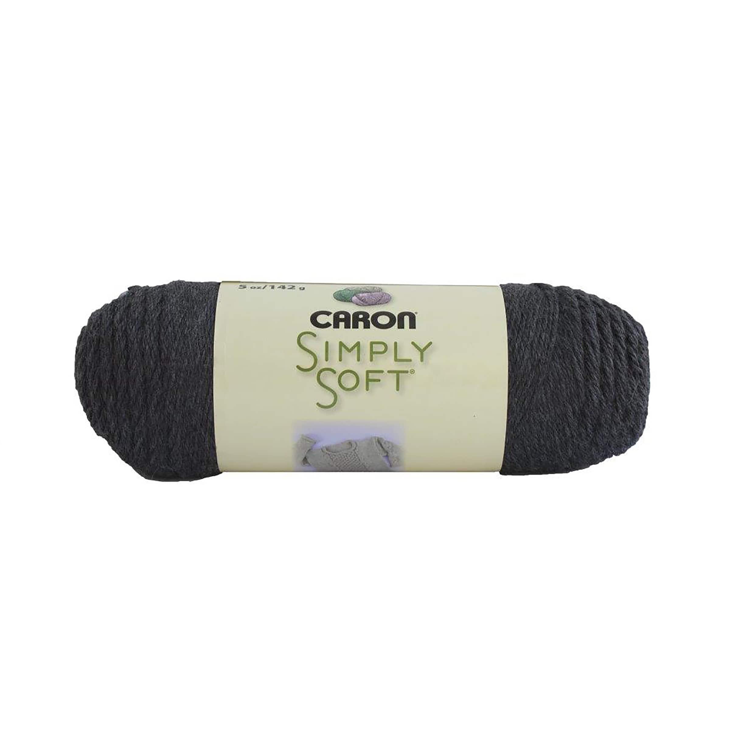 Caron Simply Soft Heathers Yarn-Grey Heather