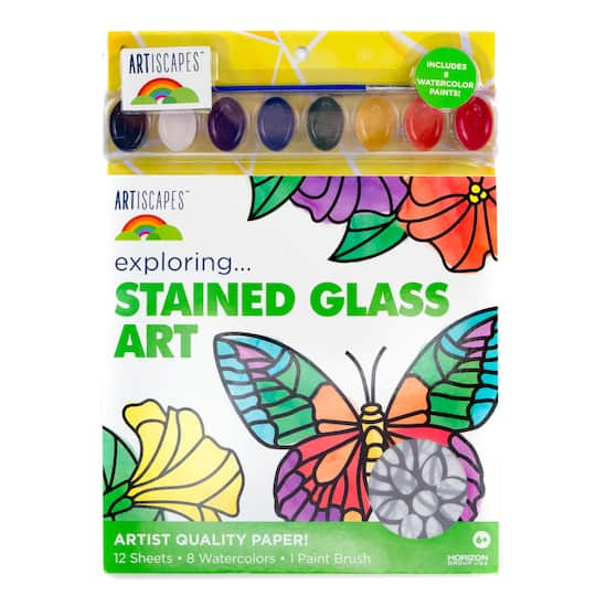 Find The Artiscapes Stained Glass Art Kit At Michaels