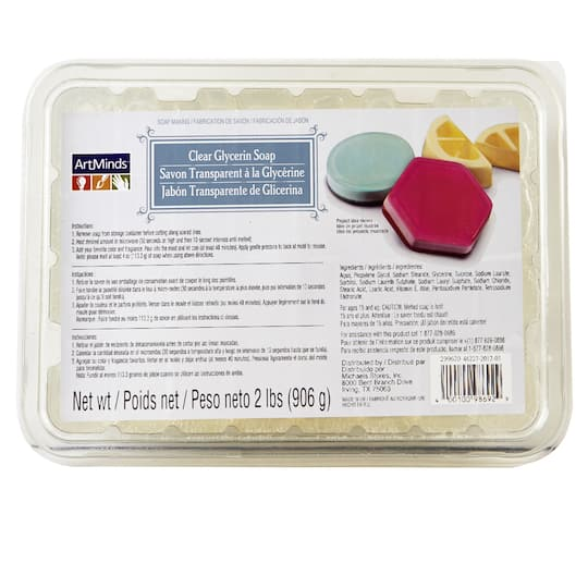 ArtMinds™Soap Making, Clear Glycerin Soap