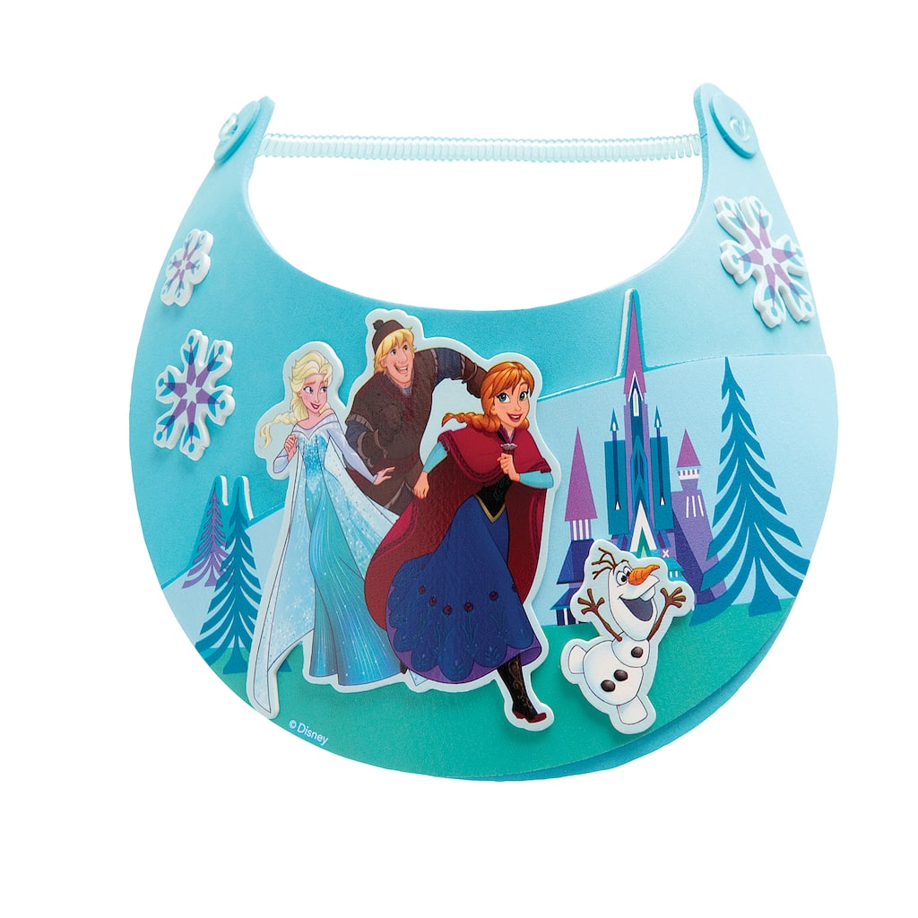 Buy the ©Disney Family Crafts Foam Visor Kit, Frozen at ... - photo#46