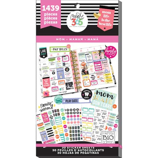 Create 365™ The Happy Planner™ Mom Life Value Pack Stickers