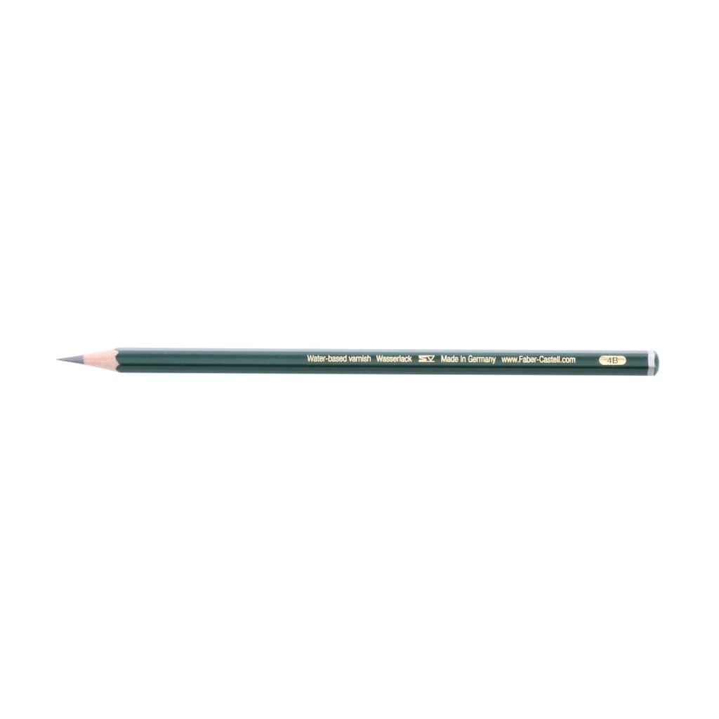 Faber-Castell 9000 Graphite Pencil, 4B
