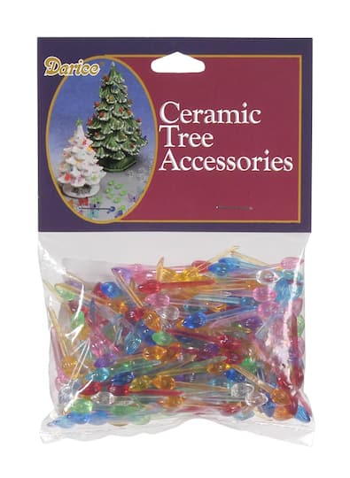 Ceramic Christmas Tree With Lights.Replacement Ceramic Christmas Tree Lights Colored Flame Shaped 1 4 Inch