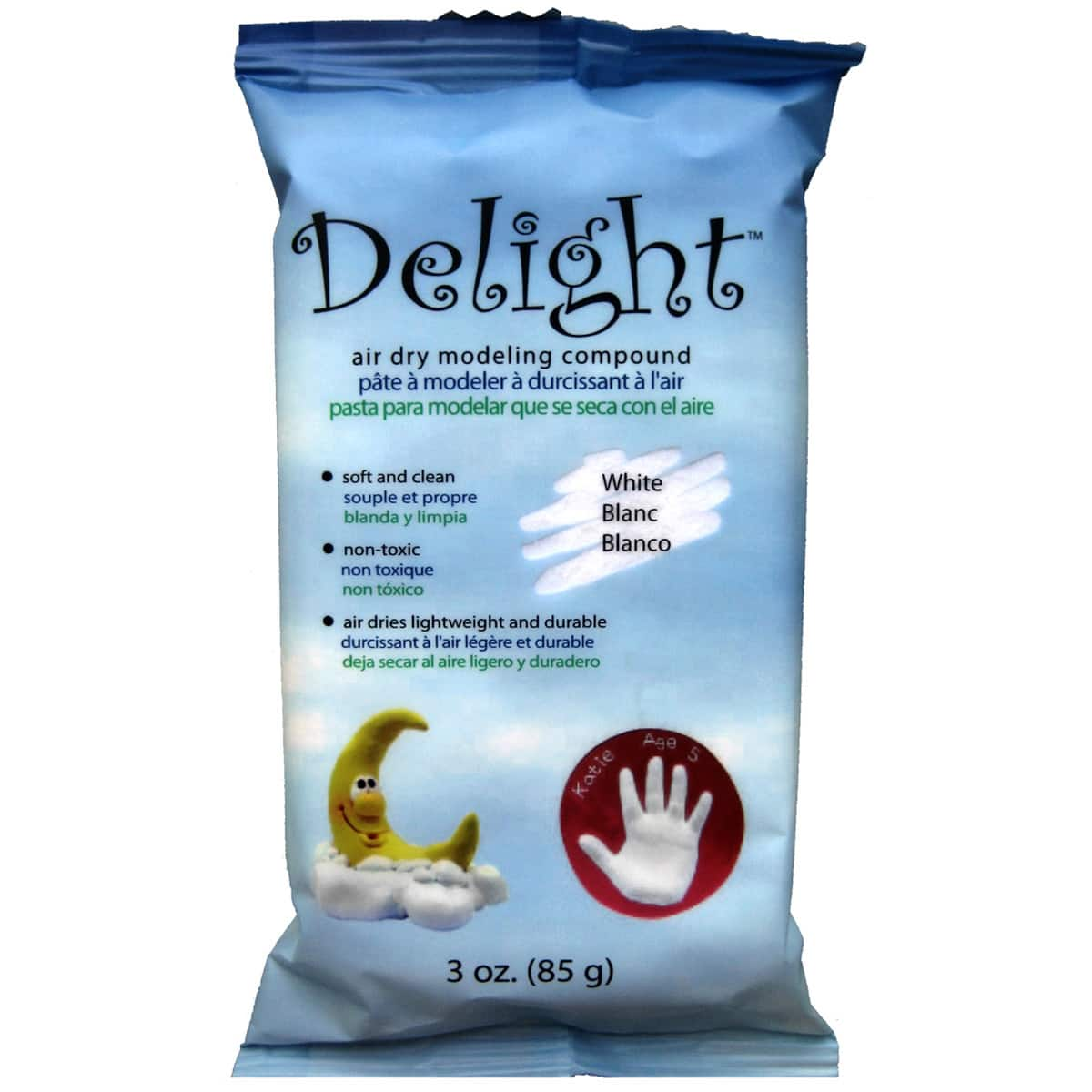 Delight Air Dry Modeling Compound 3oz