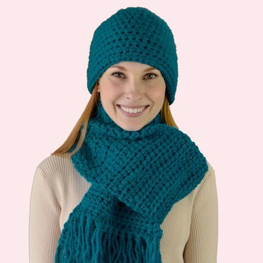 Crochet Pride Beanie Ready to Ship