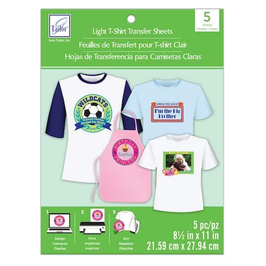 June Tailor® Light T-Shirt Transfer Sheets