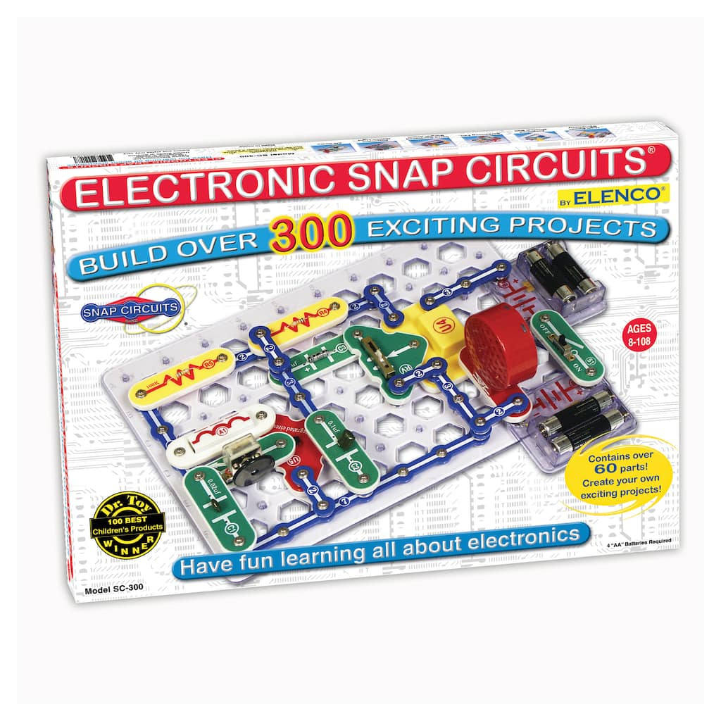Snap Circuits 300 Experiments Basic Electronic Projects Img