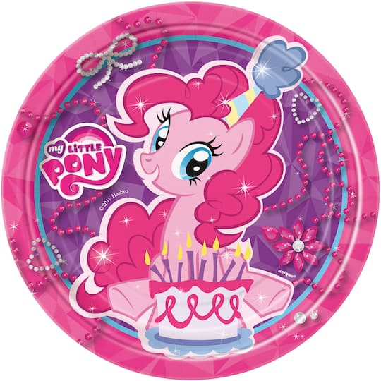Admirable My Little Pony Cake Plates My Little Pony Party Supplies Personalised Birthday Cards Paralily Jamesorg