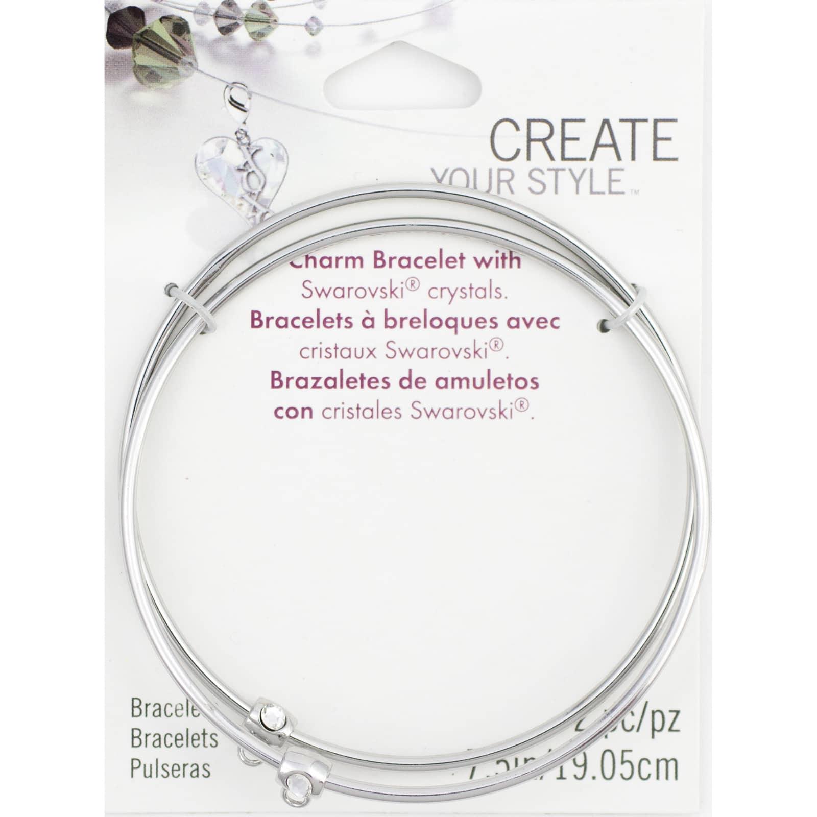Create Your Style™ Swarovski® Charm Bracelets