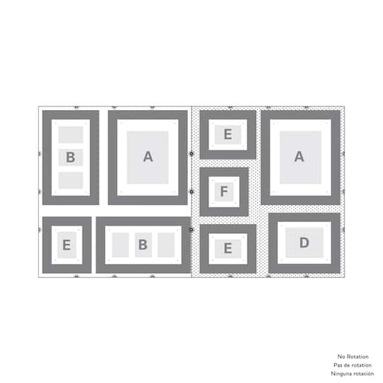 studio décor wall hanging template