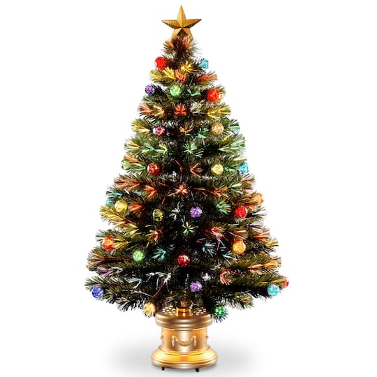 ... Fiber Optic Fireworks Artificial Christmas Tree with Top Star. img. img  img - Buy The 4 Ft. Fiber Optic Fireworks Artificial Christmas Tree With