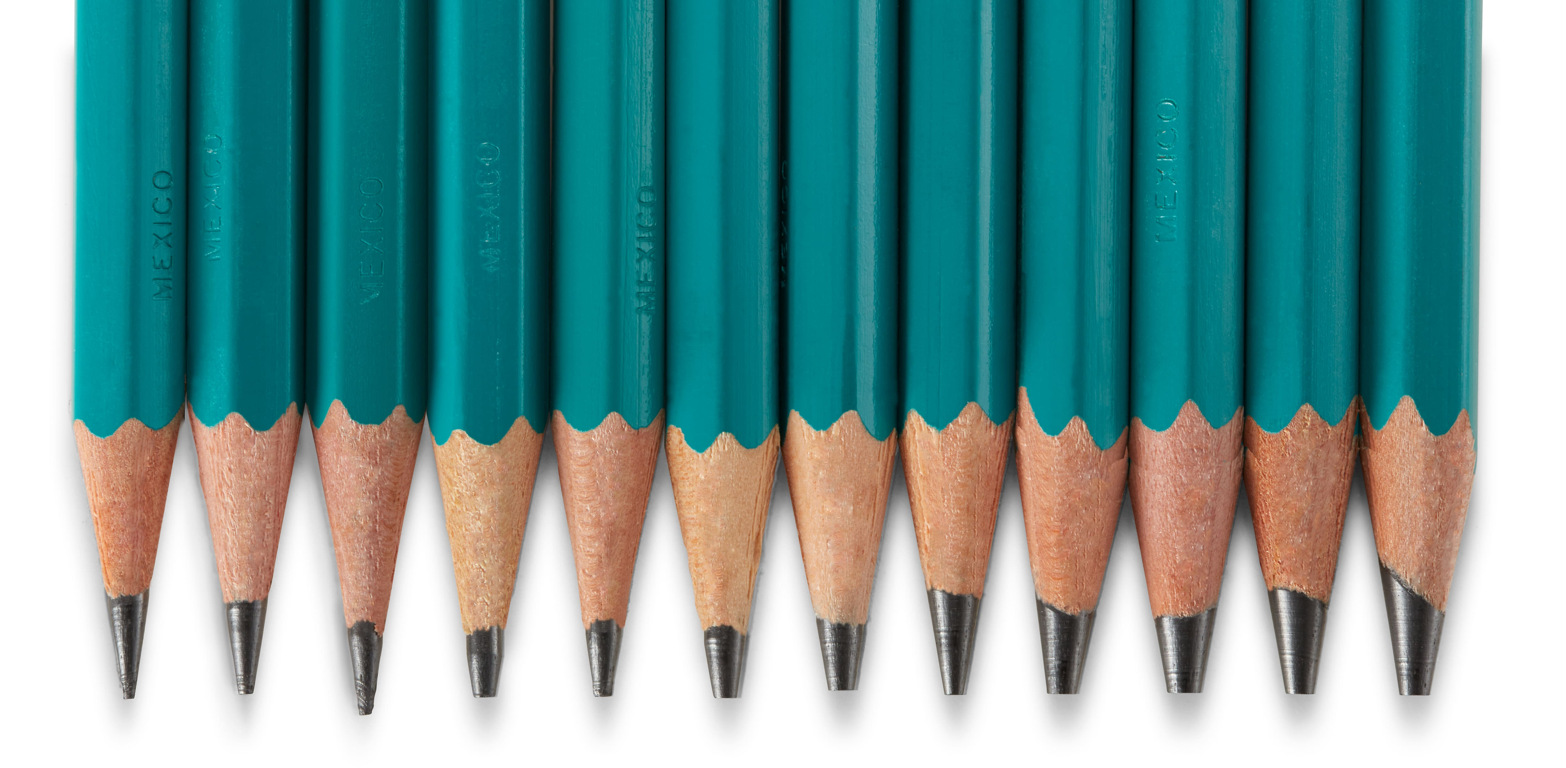 HB Prismacolor Premier Turquoise Graphite Drawing Pencil