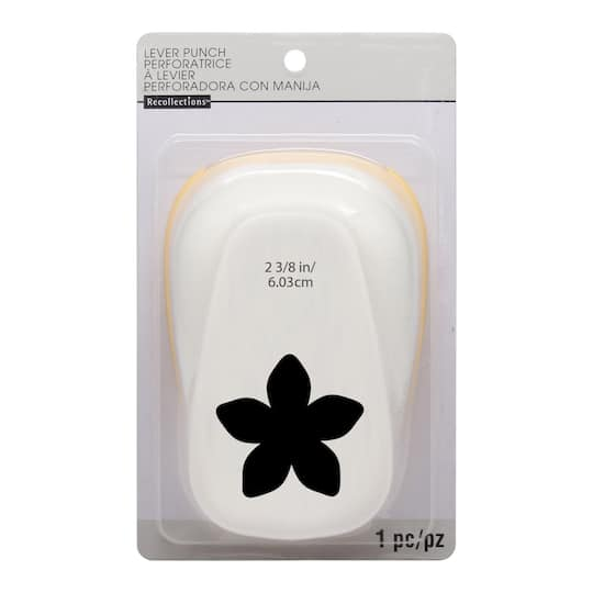 Buy the super flower lever punch by recollections at michaels super flower lever punch by recollections mightylinksfo