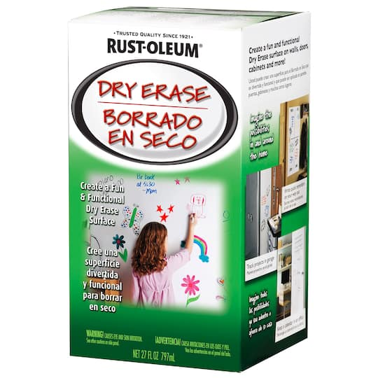 Find The Rust Oleum Dry Erase Kit White At Michaels
