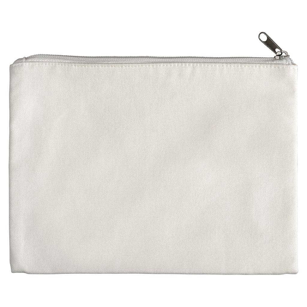 Passport bag Canvas zipper pouch Travel bag Canvas purse School supply Banana zipper pouch Accessories bag Pencil case Make up bag