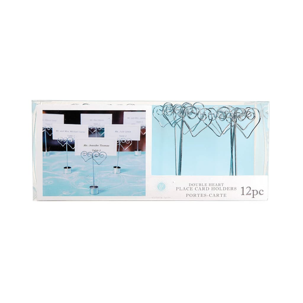 Victoria Lynn™ Double Heart Silver Wire Placeholder