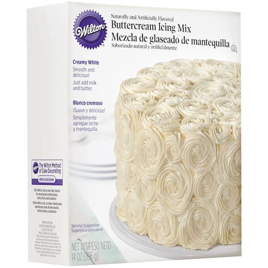 Buy The Wilton Buttercream Icing Mix Creamy White At Michaels