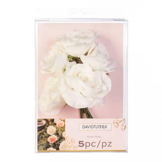 Buy the david tutera roses white at michaels previous mightylinksfo