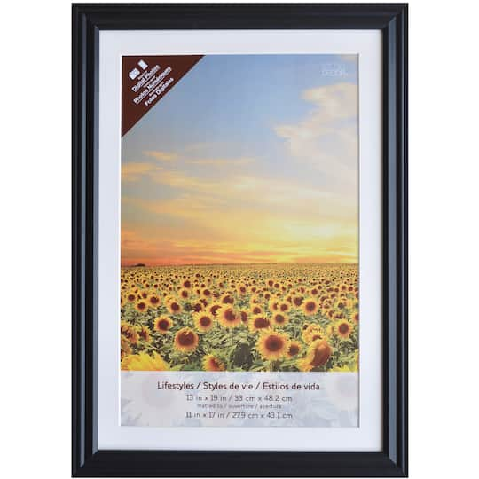 Black Frame With Mat, Lifestyles™ By Studio Décor®