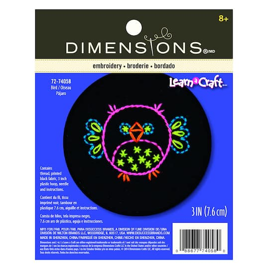 Dimensions® Needlecrafts Bird in Embroidery