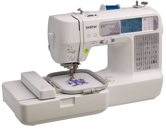 Brother™ SE40 Computerized Sewing Embroidery Machine Magnificent Brother Se400 Computerized Sewing And Embroidery Machine