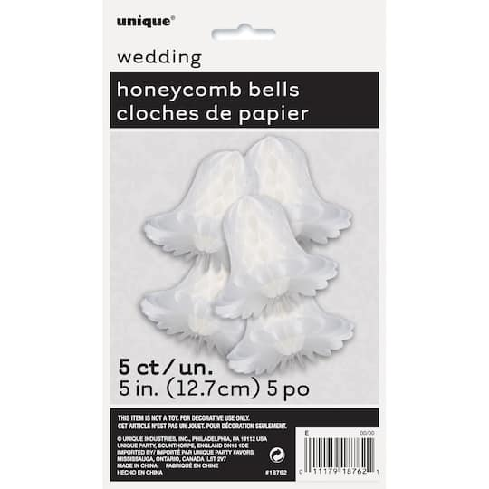 40 Honeycomb Wedding Bell Decorations 40ct Cool Wedding Bell Decorations