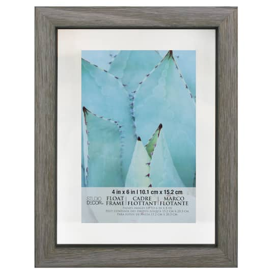 Shop For The Gray Barnwood Float Frame By Studio D 233 Cor 174 At