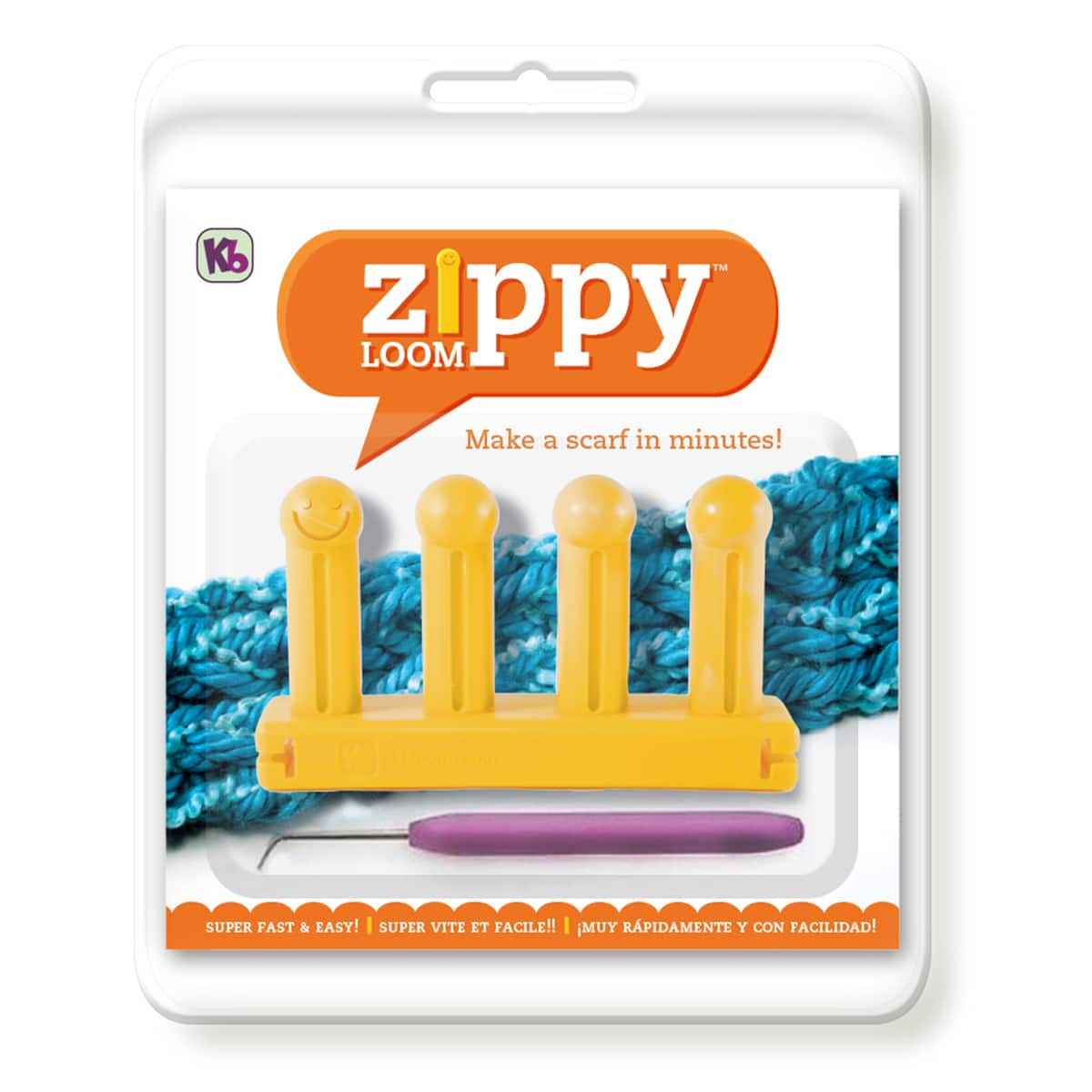 Authentic KB Zippy Loom Master Set Knitting Board