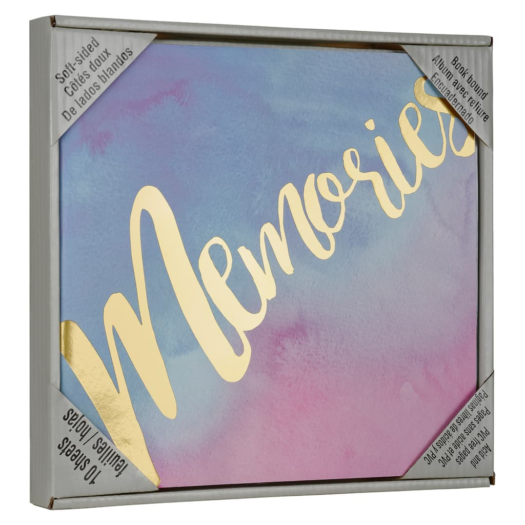 Purchase The Watercolor Memory Scrapbook By Recollections At Michaels
