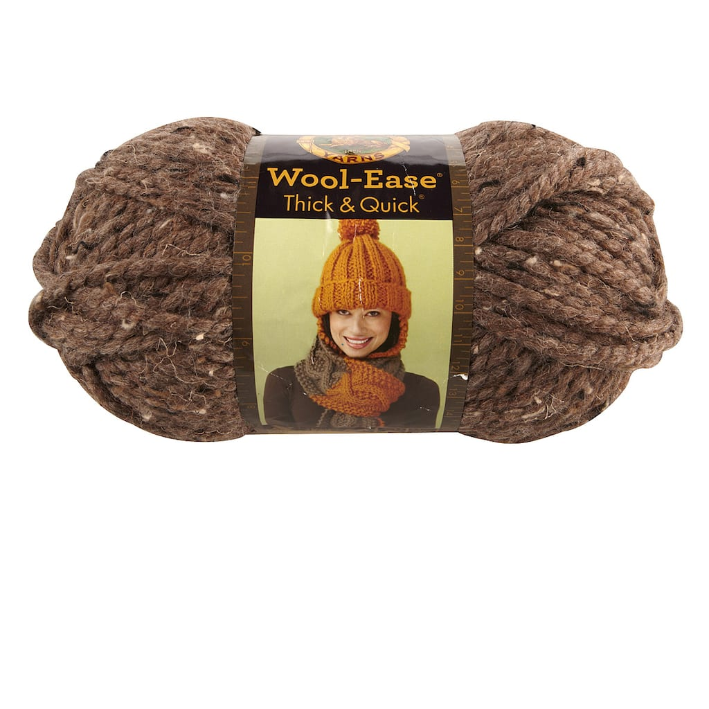 Lion Brand Wool Ease Thick Quick Yarn Solids